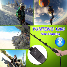 """Оригинальный Yunteng Bluetooth Дистанционное управление Беспроводной само палку 50 """"монопод для HTC один M8 M10/для Sony Xperia Z5 Z4 Z2 XP Android"""