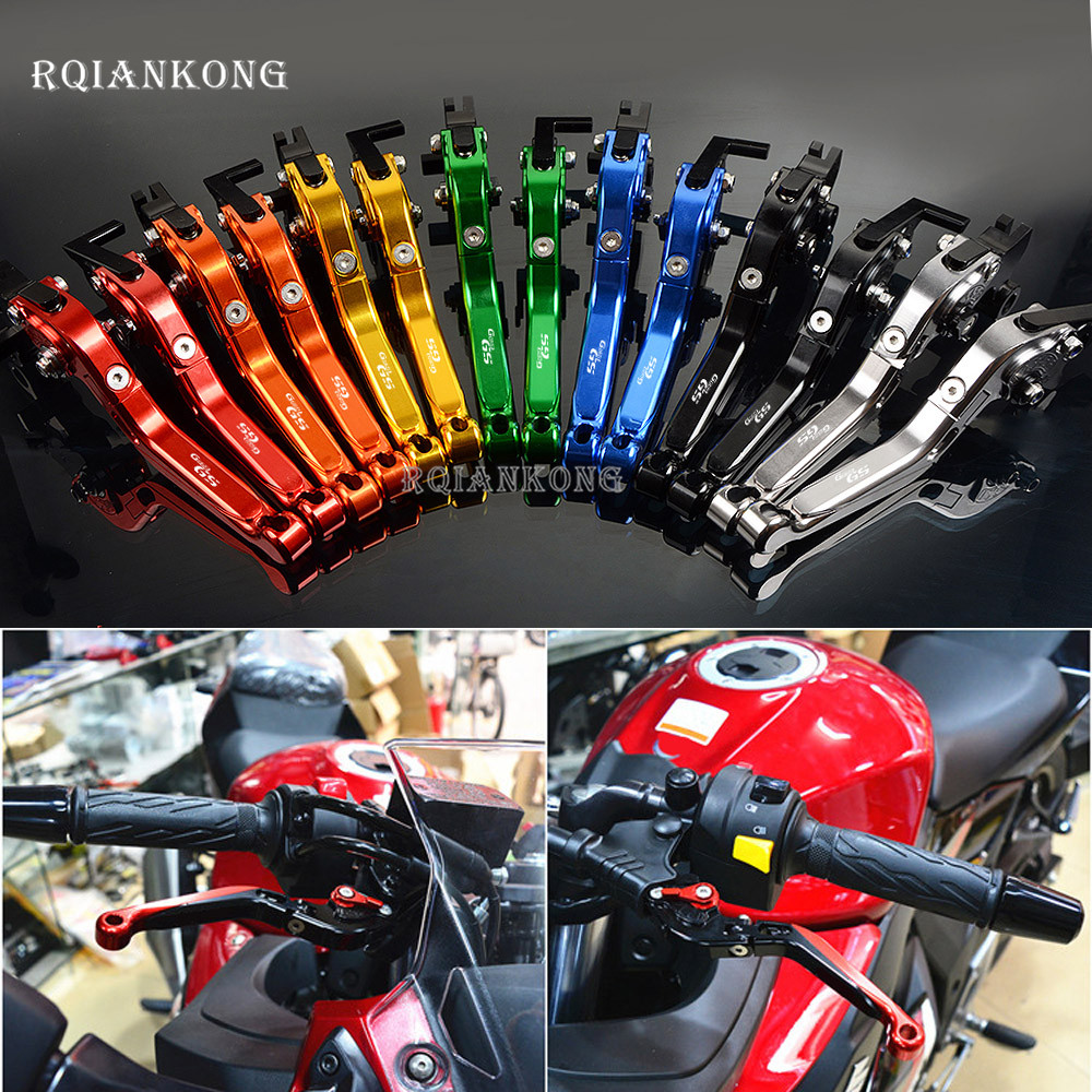 CNC Motorcycle Brake Clutch Levers For BMW G650GS 2008 2016 2009 G650 G 650 GS Motor