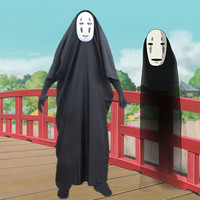 Spirited away Cosplay clothing danganronpa no face male clothes clothing Cosplay Halloween Costume mulher maravilha 7035