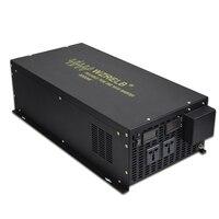 Pure Sine Wave Solar Inverter 24V to 220V 6000W Generator Power Inverter 12V/36V/48V/96V DC to 120V/230V/240V AC Remote Control