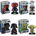 Derth Mutilar Darth Vader Yoda Funko POP Star Wars Boba Fett Sacudir La Cabeza Lindo Figuras de Acción para Niños Juguete Regalos # FB