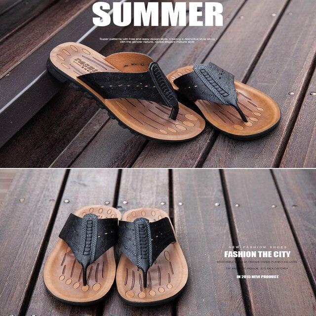 614d4a15f528 Wholesale new design summer men flat sandals