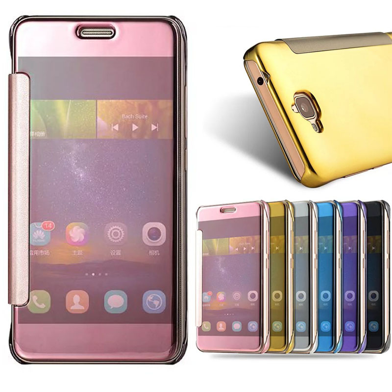 brand new dd933 86c16 US $6.99 |For HUAWEI Y6 Pro Y 6 Y6Pro TIT U02 TIT L01 Mirror Smart Flip  Cover For Huawei Honor 4C Pro TIT L01 U02 Honor4C Pro phone Case-in Flip  Cases ...
