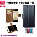 Новинки 100% специальный искусственная кожа защита бумажник чехол для Prestigio MultiPhone 7600 DUO прямая поставка