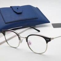 Korean Brand Alio Model Eyeglasses Frame Women Computer Optical Glasses Frame Prescription Glasses Men Monturas De Lentes Mujer
