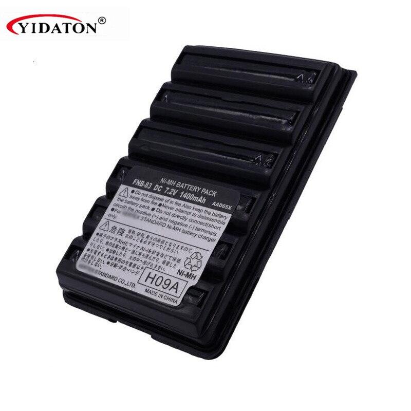 Vertex Standard FNB-83 DC 7.2V 1400mAh Repleacement Battery For Vertex VX-160 VX-168 VX-170 VX-177 VX-210A VX-218 VX-400 Battery
