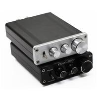 FX Audio FX502E Hifi Desktop Computer Speaker High Power Pure Digital Audio Amplifier NE5532P Power Output 68W*2 Without Adapter