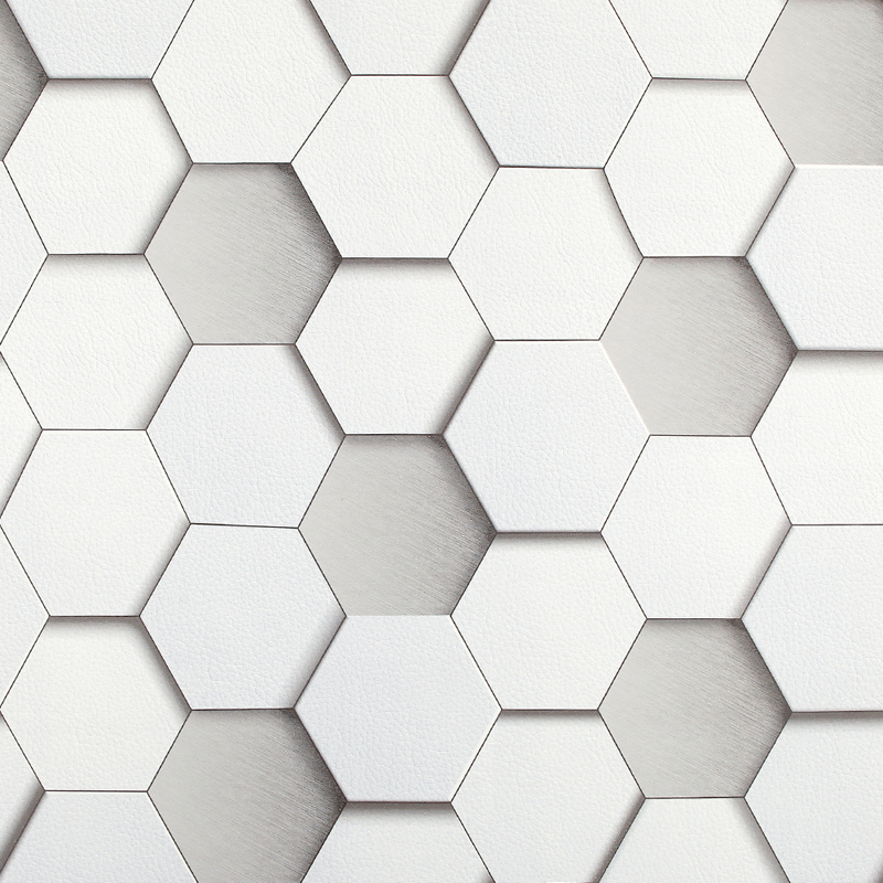 photo collection 3d honeycomb wallpaper by. Black Bedroom Furniture Sets. Home Design Ideas