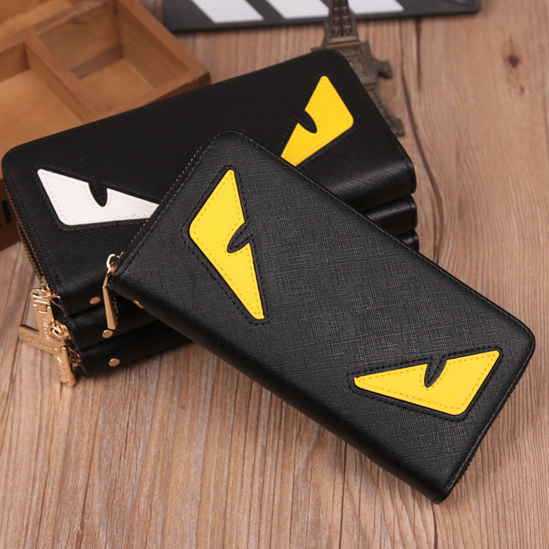 Luxury Famous Brand Designer Cartoon pattern Men Women's Long Wallets Fashion High quality Clutch bag Casual Zipper Coin Purses цена
