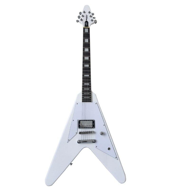 Fait sur commande nouveau Boult Guitare explorateur Personnalisé Remontée Flying V guitare électrique