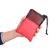 VILEAD Ethnic Style Travel Outdoor Small Cushion Folding Mini Thick Super Light Portable Single Mat Park Picnic Beach