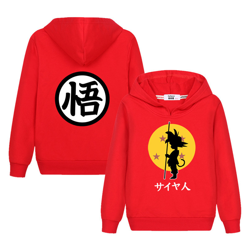 Super 3D Cartoon Hoodie Boy Girl Anime Pattern Sweatshirt New Casual Kid Tops 100% Cotton Autumn Clothes Boy Sweater 3