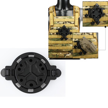 New Tactical Holster Platforms Mount Your Holster At Any of the 360 Degree Angles for Hunting CL7-0047
