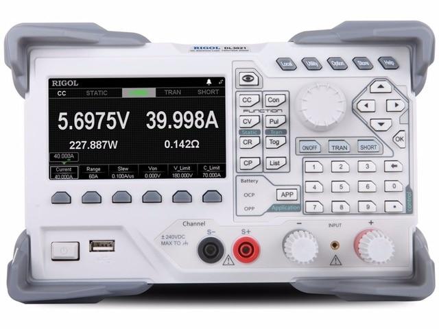 Rigol DL3021 Programmierbare DC Elektronische Last (Einzigen Kanal, 150V/40A/15kHz 200W)
