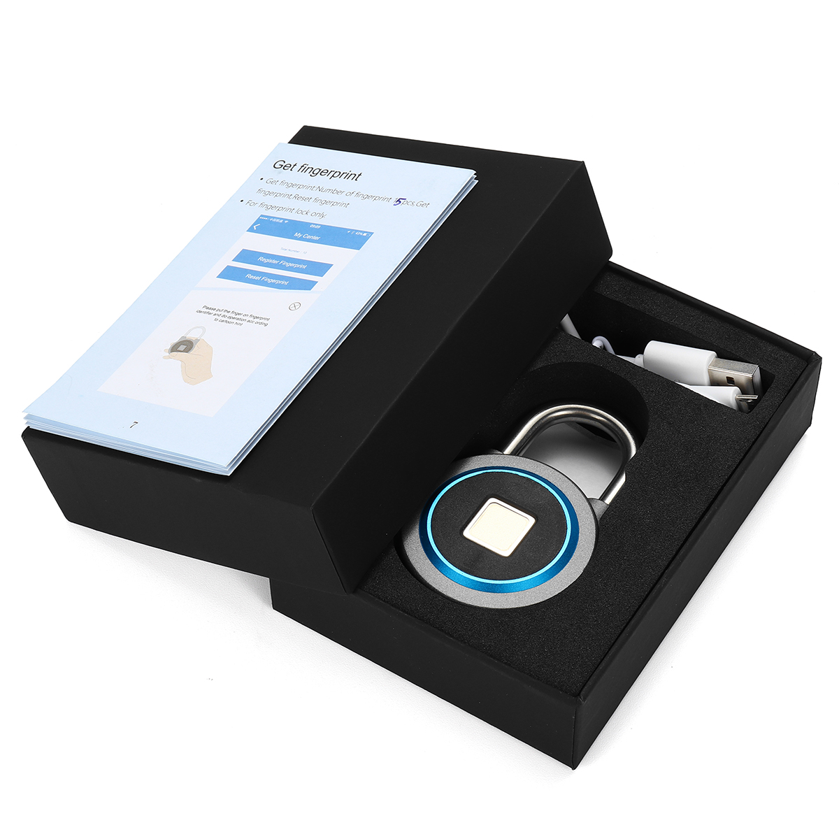 Fingerprint Recognition Bluetooth Keyless Lock – Waterproof 5