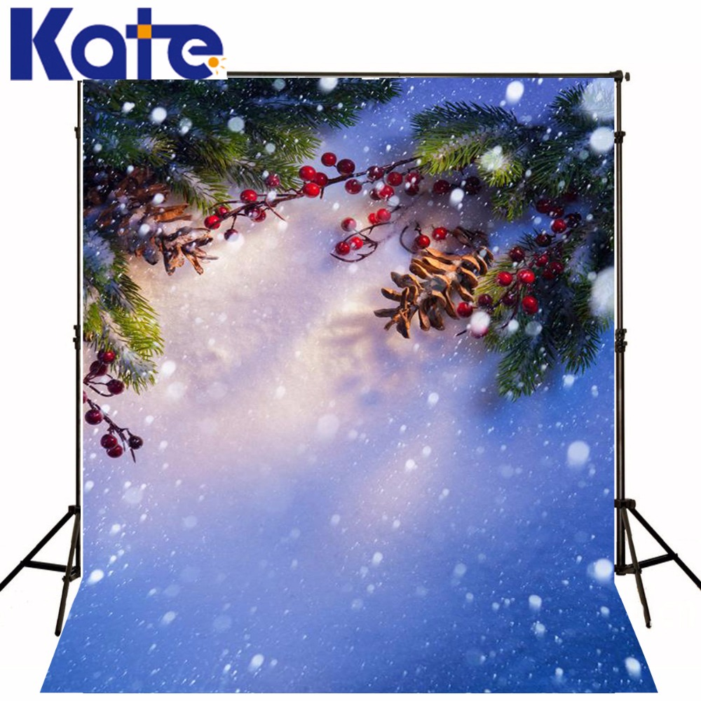 kate Christmas Photography Backdrops Sunshine Berries Snow  5X7Ft(1.5X2.2M) Background For Photo Shoot Photostudio Background Zj сумка kate spade new york wkru2816 kate spade hanna