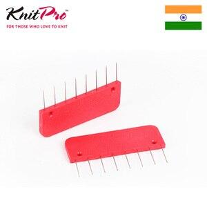 Image 2 - 1 opakowanie Knitpro Rainbow Knit blokery dziewiarskie przyrządy do szycia i akcesoria