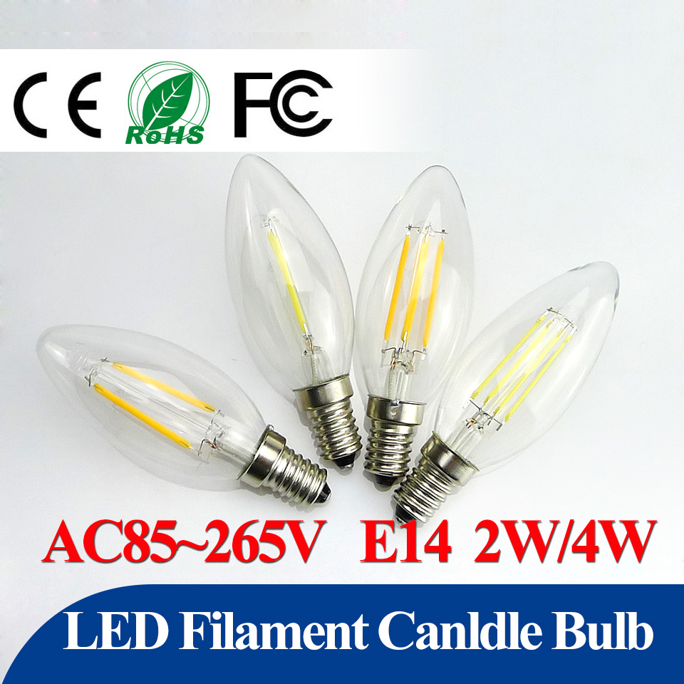 energy saving led bulb e14 2w 4w led filament cand light c35 360 degrees globe candelabra bulbs. Black Bedroom Furniture Sets. Home Design Ideas
