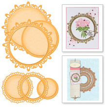 Eastshape Layer Frame Border Banner Tag Background Dies Metal Cutting  Scrapbooking Card Making Craft Embossing Stencil