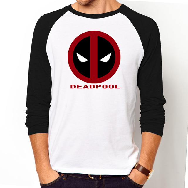 T Shirt Men Women Funny T Shirts 2016 New Superhero Deadpool T Shirt
