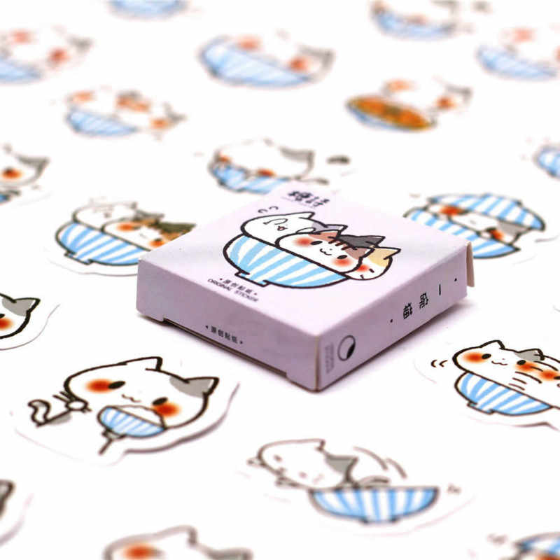 40 PCS Lovely Stout Hamster Sticker Animal Decals Stickers Gifts for Children to Laptop Suitcase Guitar Fridge Bicycle Car