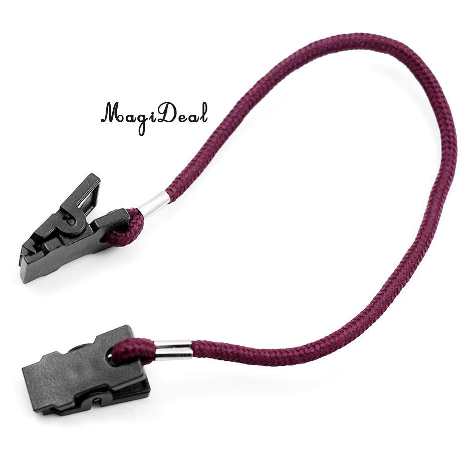 MagiDeal Outdoor Hat Scarf Wind Clip Lanyard Rope Cord for Camping Hiking Travell Climbing Equipment Clothes Hat Bag Tools Acce