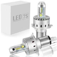 Car Headlight H7 H4 LED H1 H8/H11 HB3/9005 HB4/9006 H3 9012 HIR2 80W 16000lm Cree XHP50 Chips 6000K Light Auto Headlamp Bulb