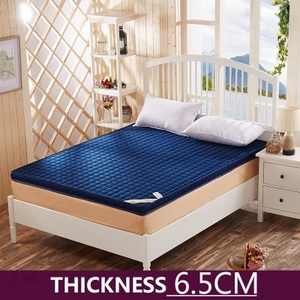 Image 2 - ข้นหน่วยความจำโฟมที่นอนเสื่อทาทามิพับสูงReboundที่นอนฟองน้ำสำหรับครอบครัวผ้าคลุมเตียง