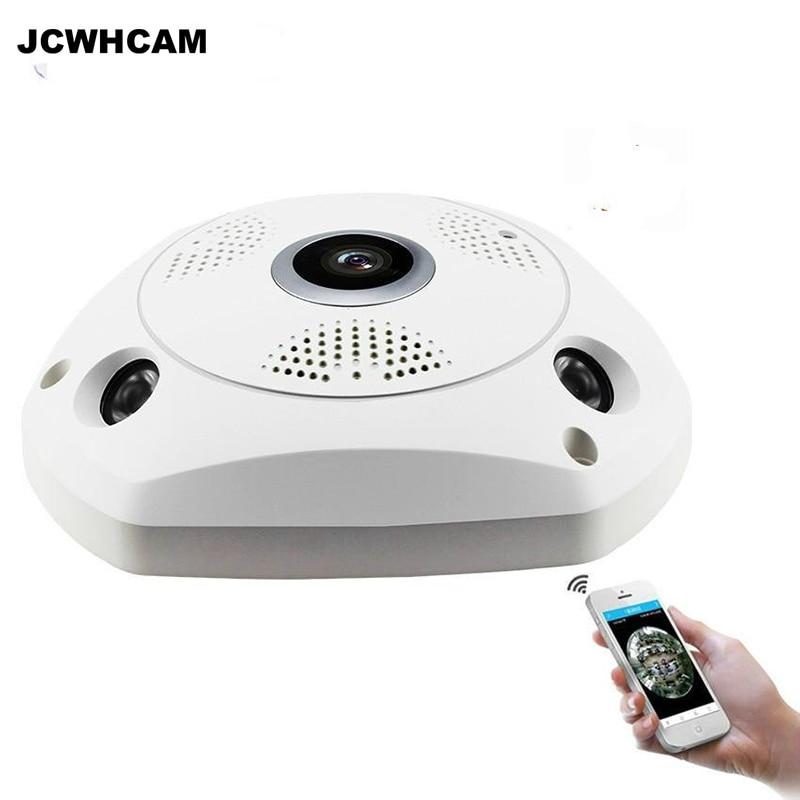 JCWHCAM Smart 3D VR Camera 360 Degree Panoramic IP Camera 960P 1.3MP Wireless WiFi Camera Fisheye SD Card Slot Multi Viewing горелка tbi sb 360 blackesg 3 м