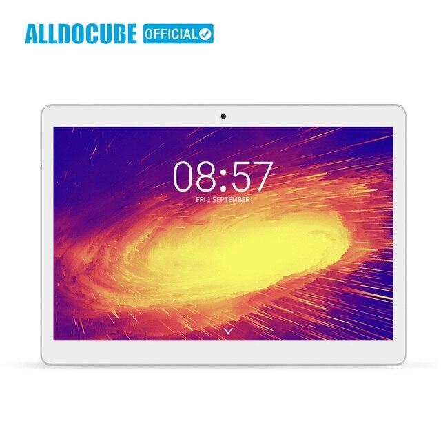 ALLDOCUBE M5X 10.1 inç Android 8.0 Tablet 2560*1600 IPS Deca çekirdek MTK X27 4G telefon görüşmesi çift WIFI Tablet PC 4GB RAM 64GB ROM