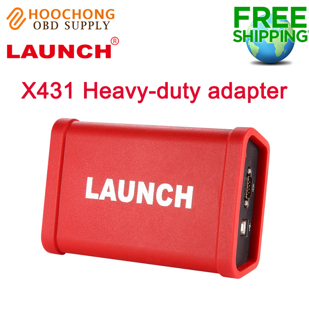 Heavy Duty Adapter box LAUNCH X431 HD ModuleTruck Diagnostic Adapter for X-<font><b>431</b></font> V+ X431 <font><b>Pro3</b></font> pad II image