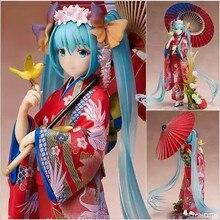 Anime Stronger Hatsune Miku Figures Kimono Yukata PVC Miku Action Figure Collectible Model Toy 20cm best gift for Christmas toys