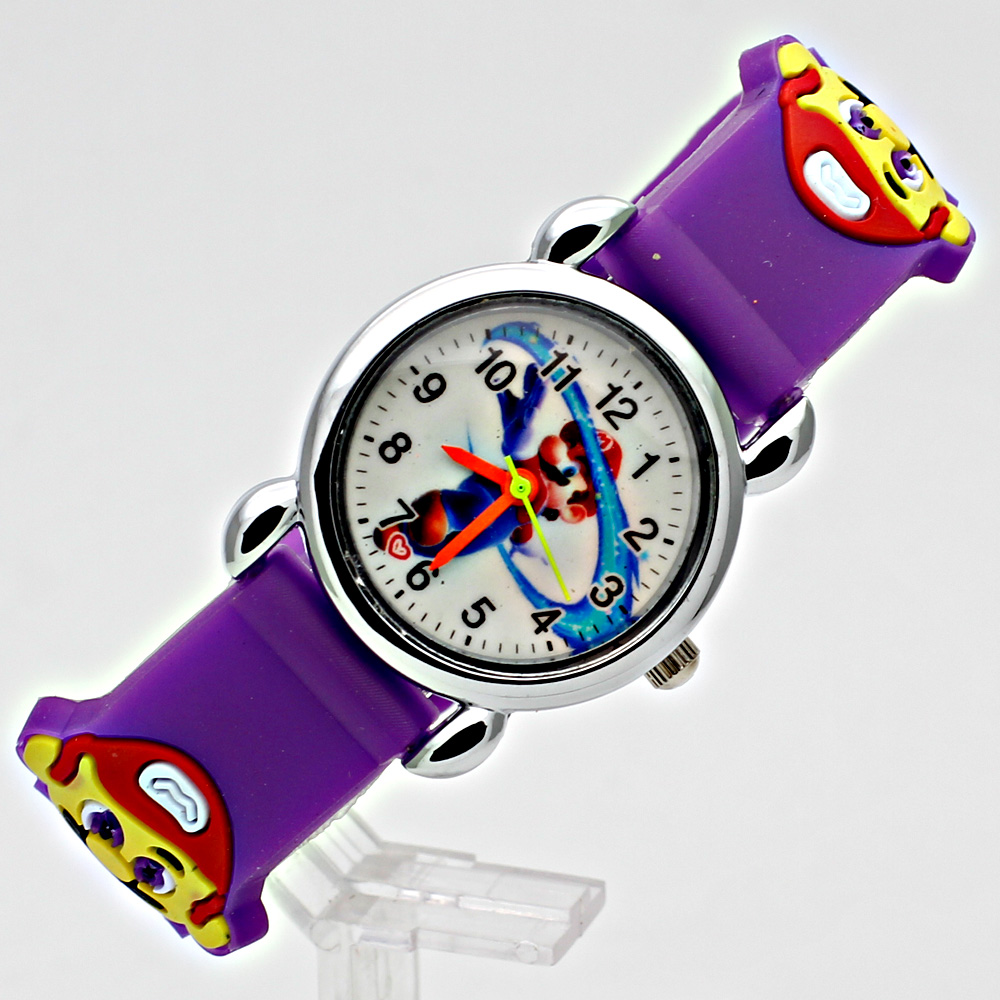 3D siliconen Cartoon Horloge Kinderen Sport Horloge Mode Jongens - Kinderhorloges - Foto 4