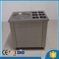 single pan fry ice cream machine fried ice roll pan machine flat pan rolled fried ice machine ice cream rolls machine