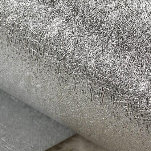 Moderne luxe or argent papier peint feuille d'or papier peint rouleau salon chambre fond papier peint pvc étanche réfléchissant - 4