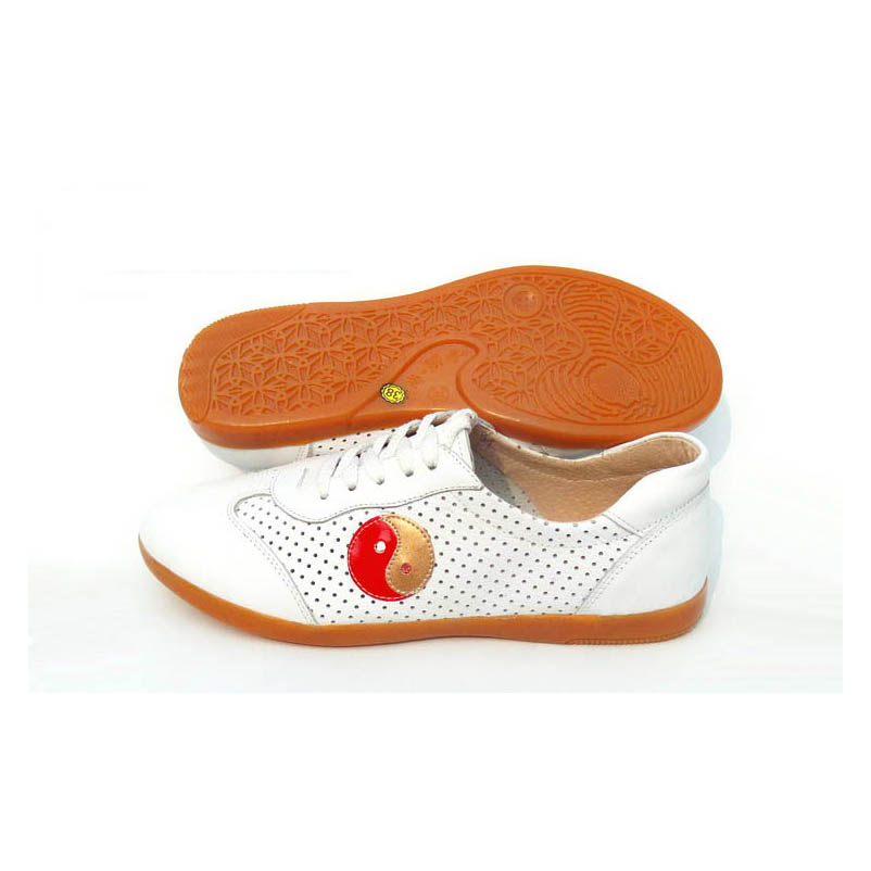 Фотография Tai chi shoes for chinese kung fu genuine leather cow muscle outsole durable cannot be broken for men and women Hongdolph Sale
