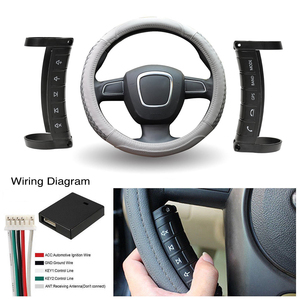 Image 3 - Podofo Car Steering Wheel Control DVD 2din Android Window Bluetooth Button Universal Wireless Steering Wheel Remote Control