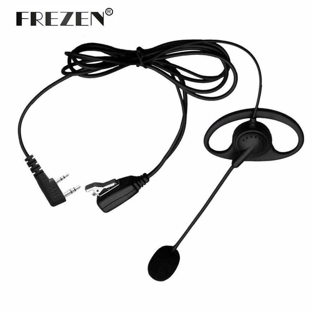 bilder für D-Form PTT Hörer Headset mit boom-mikrofon für Kenwood Baofeng UV5R TYT Radio