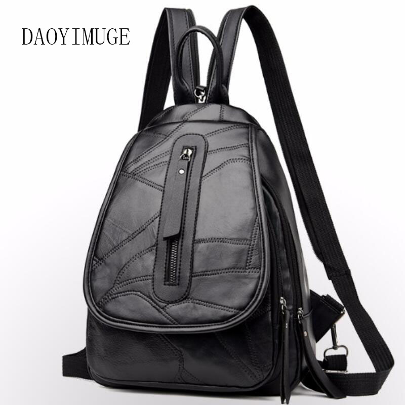 Multi-function female chest bag large capacity student backpackMulti-function female chest bag large capacity student backpack