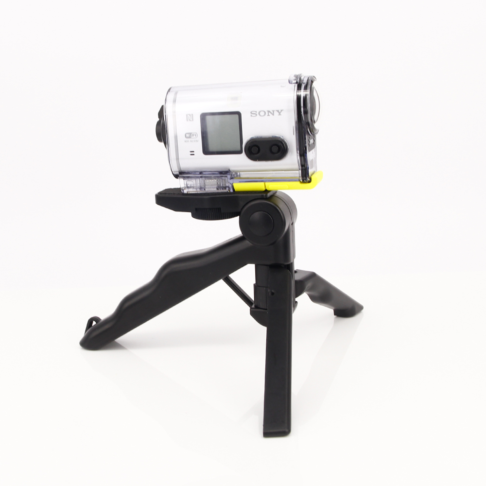 2in1 Handheld Grip Mini Tripod and stablizer steadycam for sony action cam HDR AS100V AS300R AS50