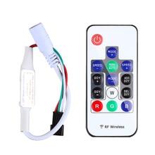 Led RGB Controller 300 kinds of changes Wireless RF Digital Color LED Strip led Light for WS2812B WS2813 DC 5V