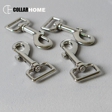 100pcs Plated metal buckle strong lobster clasp 1 Inch(25mm) pet leash straps key chain dog clip horse accessory