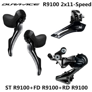 Image 1 - SHIMANO R9100 Groupset DURA ACE R9100 9000 Derailleurs ROAD Bicycle ST+FD+RD Front REAR Derailleur DUAL CONTROL LEVER  SHIFTING
