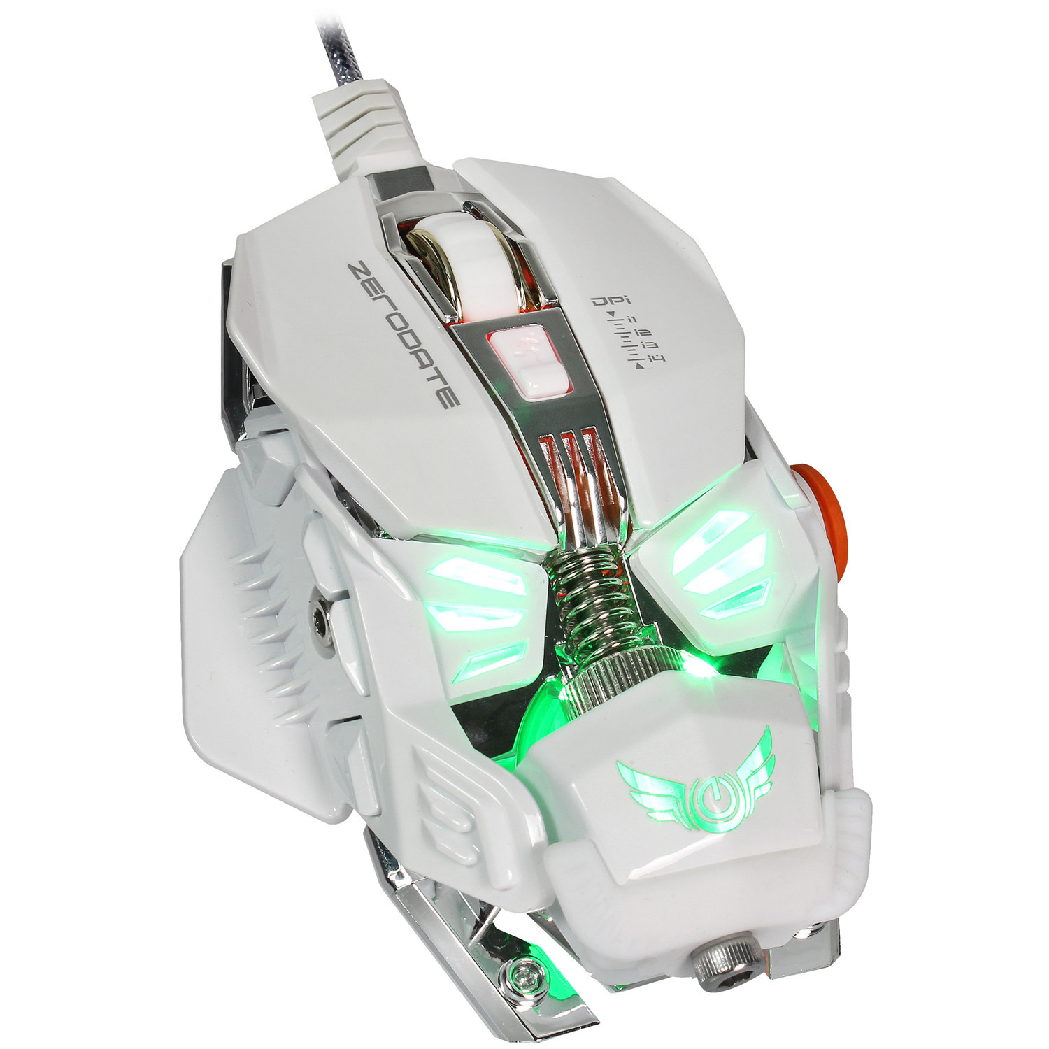 Macro Programming Mouse for Hand-held Competitive Machinery Cable Game 4000dpi Spot Wholesale of Chicken Mouse