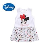 DISNEY Girl Knitting Vest Dress 2018 Summer New Pattern 1 3 6 Year Baby Princess Dress