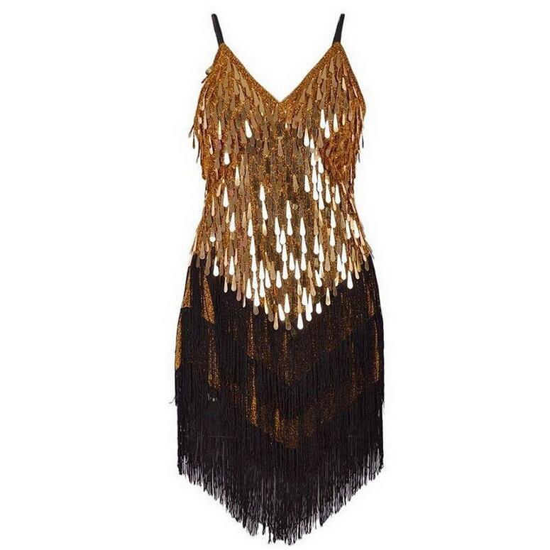Сексуальный летом кисточкой женщины мини-платье офф-плечу глубокий v-образный вырез блестками ночной клуб ну вечеринку платья танцевальная одежды 8 цвета