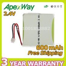 Apexway 2.4V 600mAh Ni-MH Cordless Rechargeable Battery 5M70