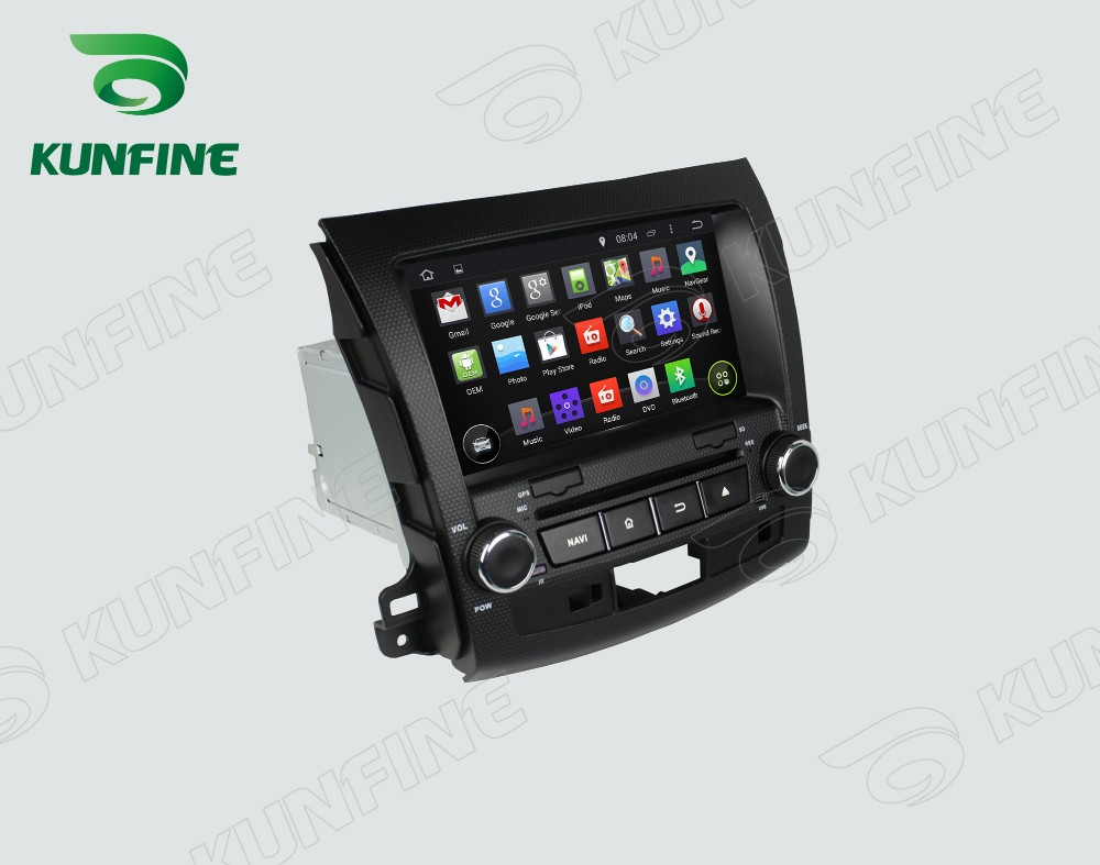 Car dvd GPS Navigation player for outlander 2006-2012 D