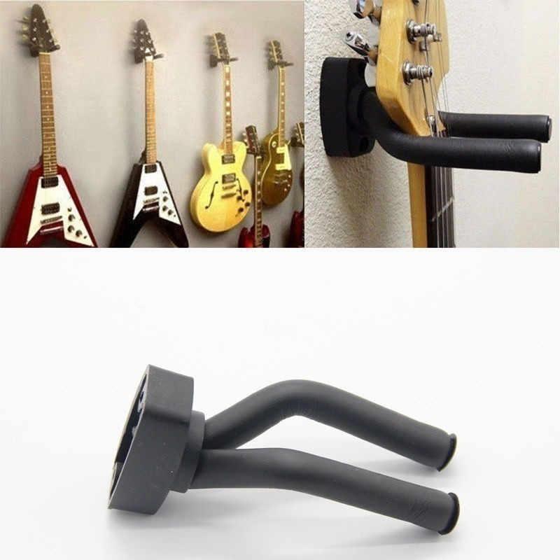 1 قطعة الغيتار شماعات حامل صنارة الصيد جدار جبل حامل رف قوس عرض الغيتار باس مسامير اكسسوارات