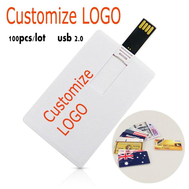 100 pcs/lot lecteur de stylo usb carte mémoire logo personnalisé bâton de mémoire gratuit 64 gb 32 gb USB 2.0 lecteur flash 16 gb 8 gb lecteur usb haute vitesse